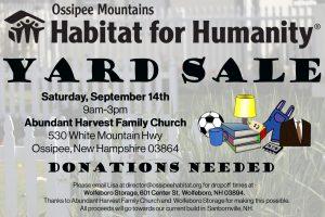 Habitat for Humanity Community Event